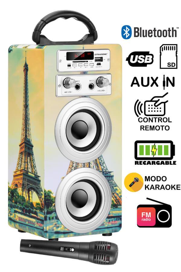 altavoz Dynasonic Bluetooth 025