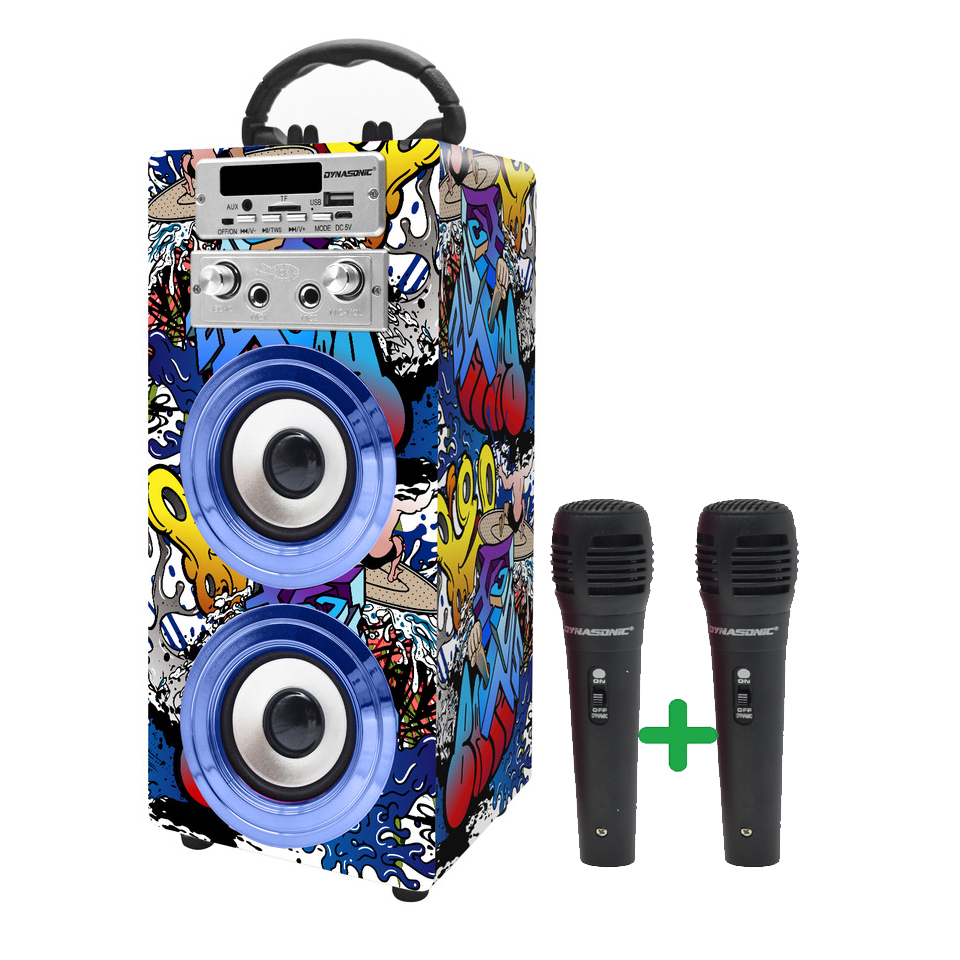 altavoz bluetooth karaoke modelo 16