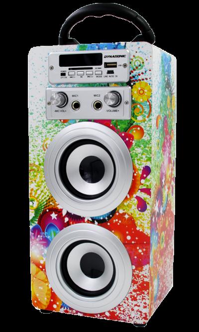 altavoz bluetooth karaoke dynasonic modelo 1