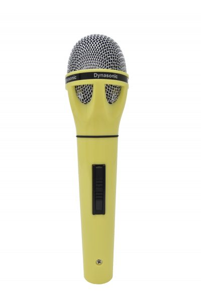 Micrófono Dynasonic amarillo