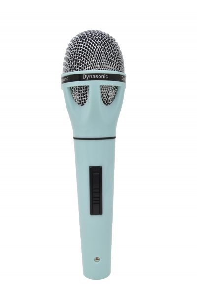 Micrófono Dynasonic azul claro