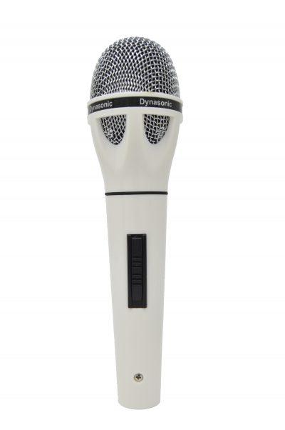 Micrófono Dynasonic blanco