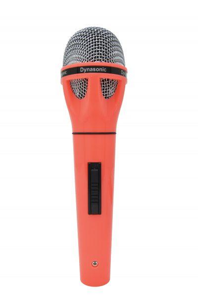 Micrófono Dynasonic rojo