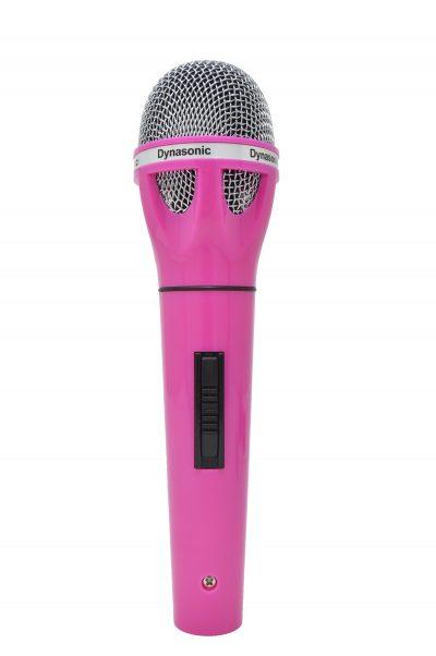 Micrófono Dynasonic rosa