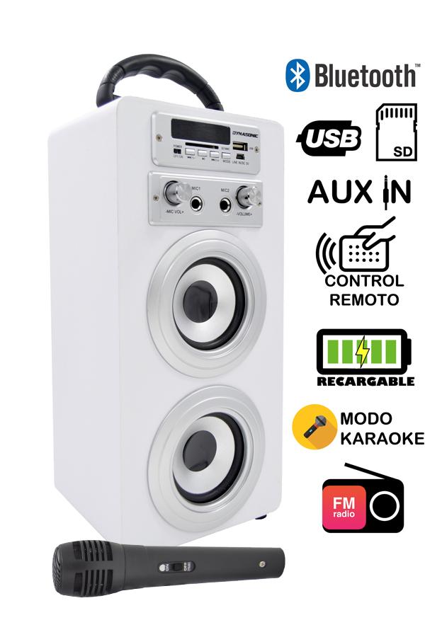 altavoz karaoke bluetooth
