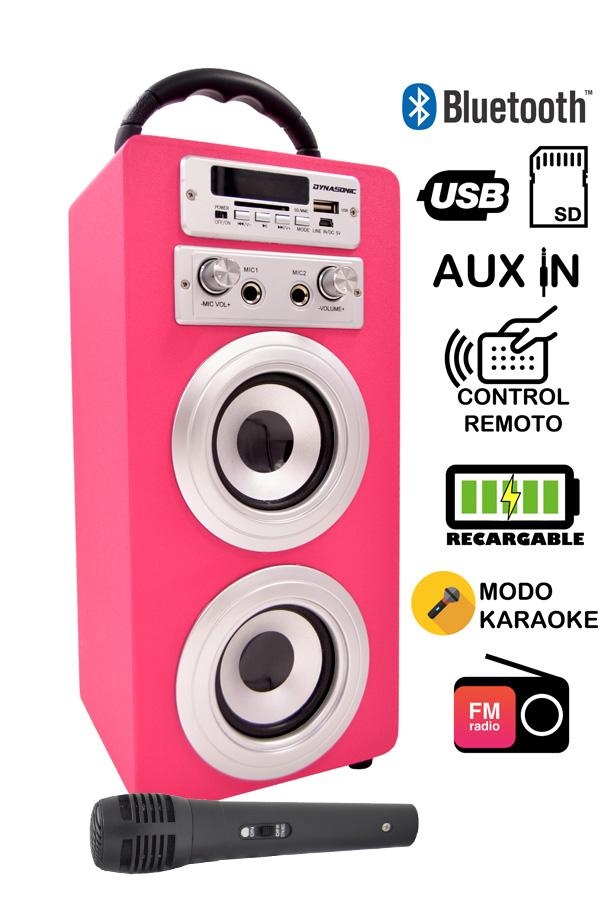 karaoke portatil dynasonic