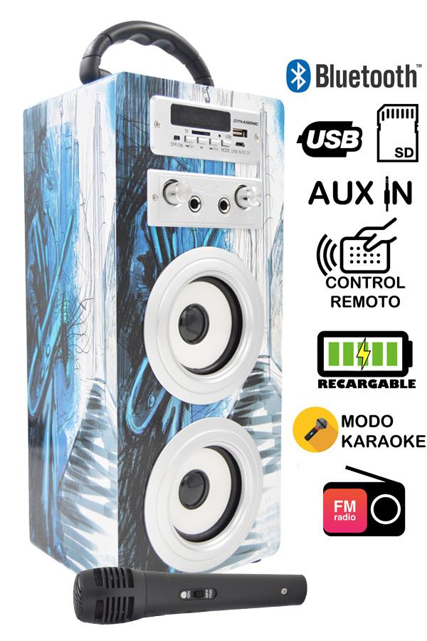 altavoz karaoke modelo 7