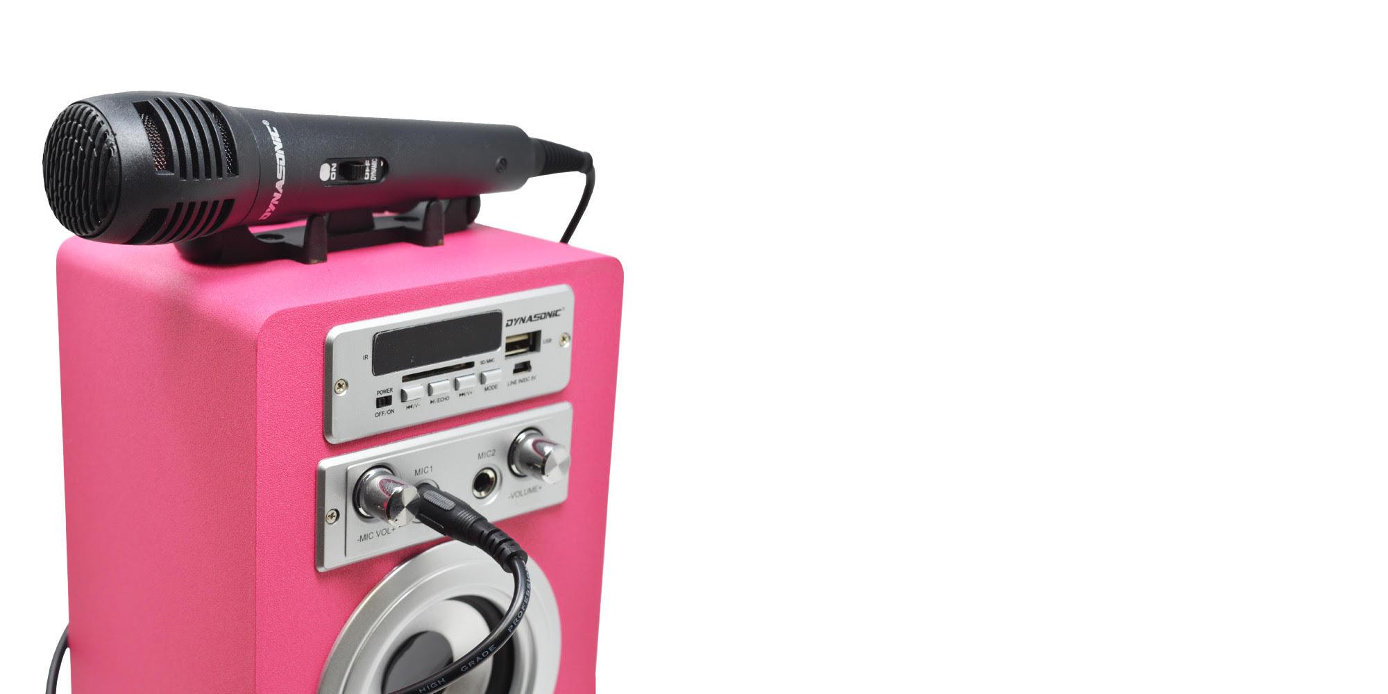 Altavoz Karaoke Serie 025 Dynasonic Electrónica