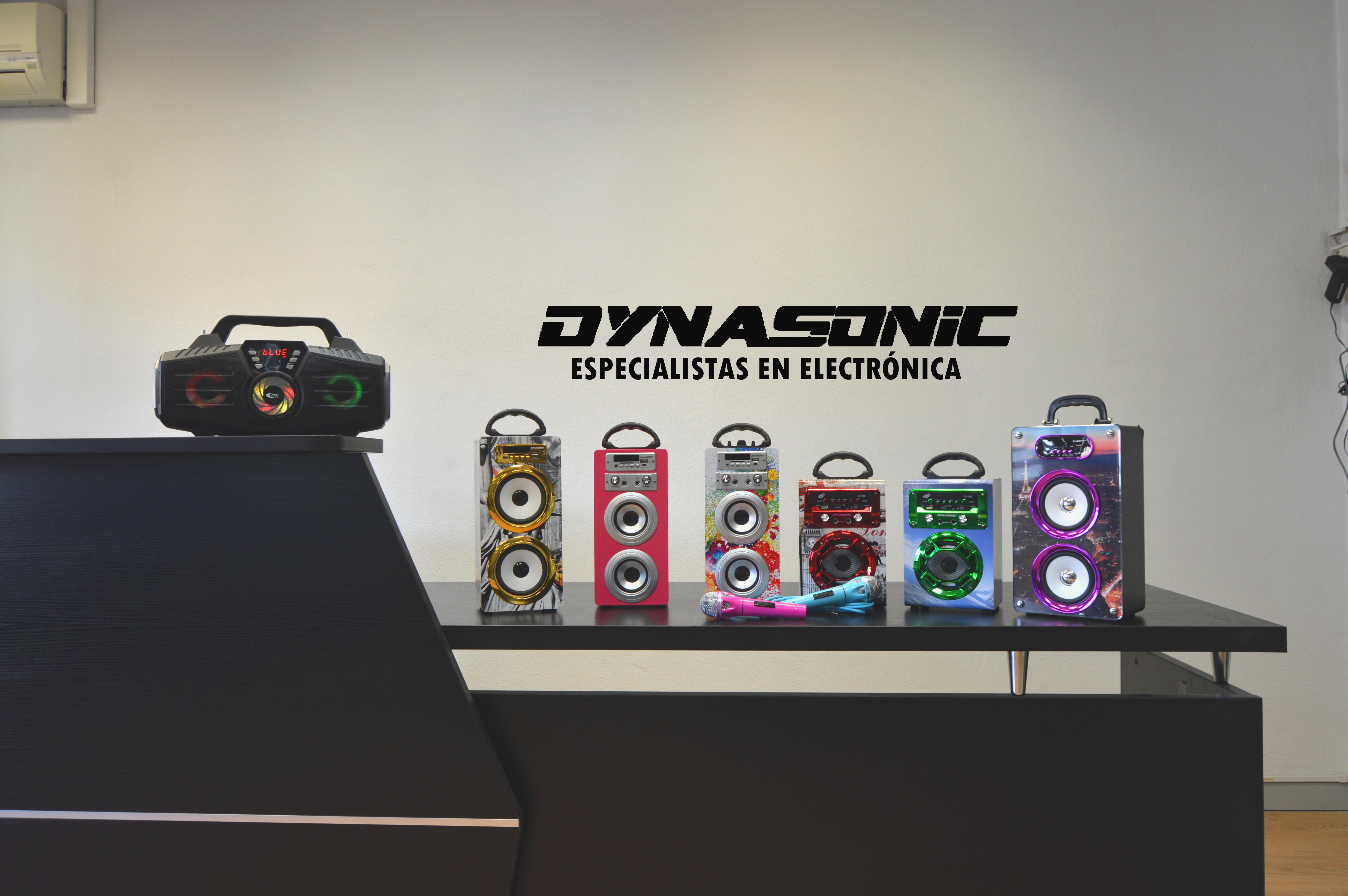 Altavoces Bluetooth Karaoke Dynasonic